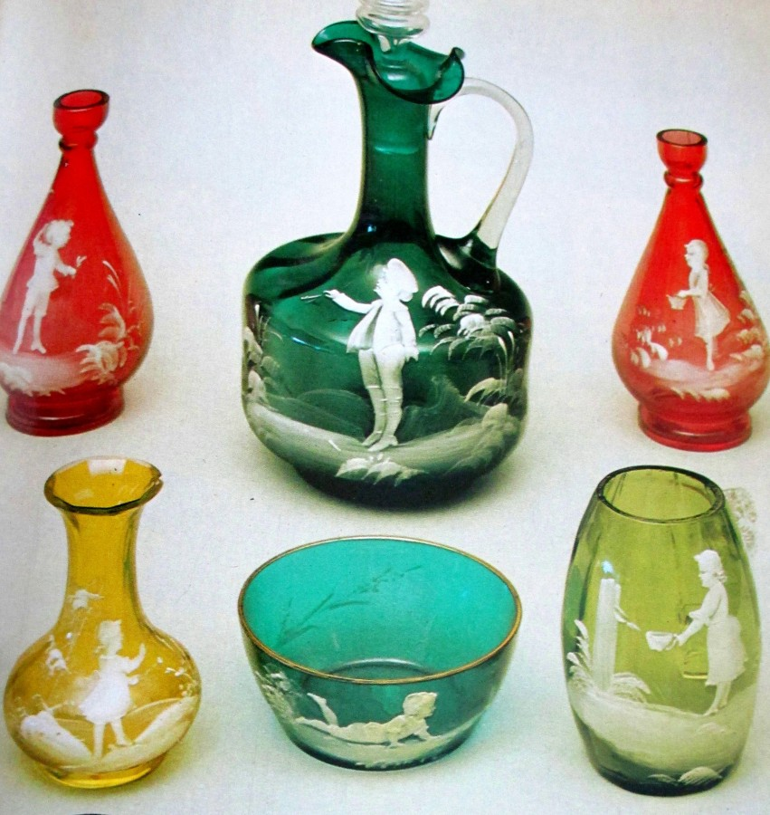 Mary Gregory | Victorian glassware