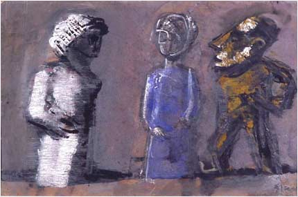 Mario Sironi - three-totems