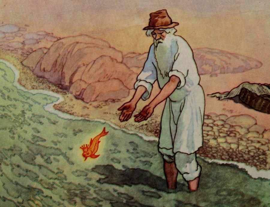 A Pushkin - fisherman & goldfish