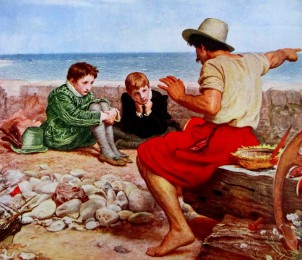 Millais - Boyhood of Raleigh