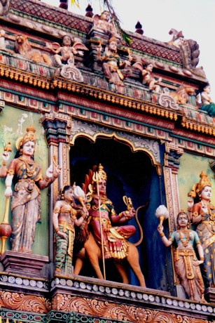 Sri Mariamann Hindu Temple - Singapore