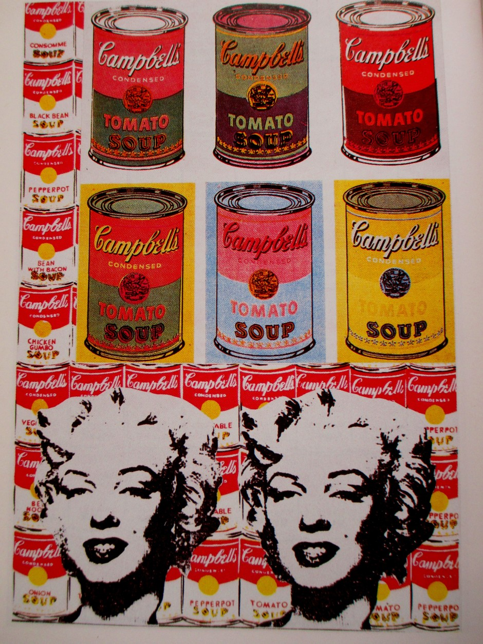 Andy Warhol - soup cans