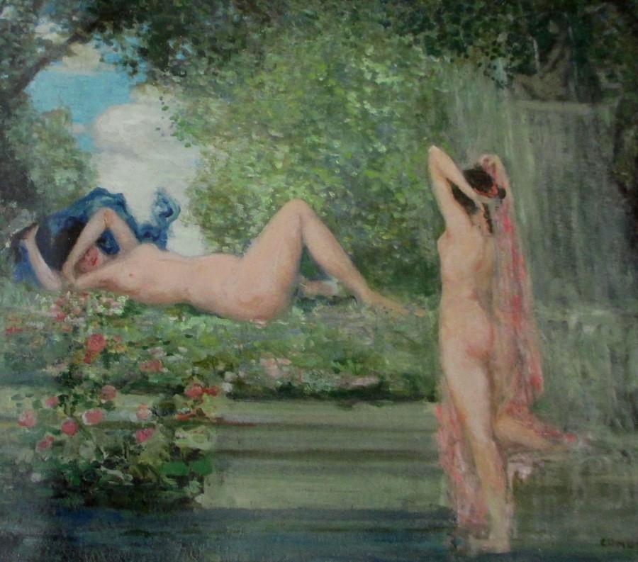 Charles Conder - garden idyll