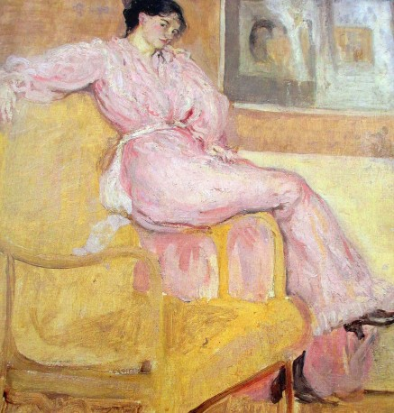 Charles Conder - Mrs Conder