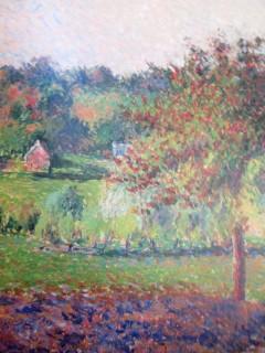 Camille Pissaro - Prairie at Eragny