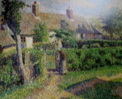 Camille Pissarro - Peasants Houses Eragny