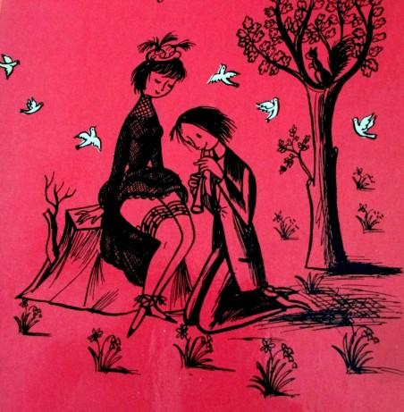 Raymond Peynet - The Lover's Pocket Book