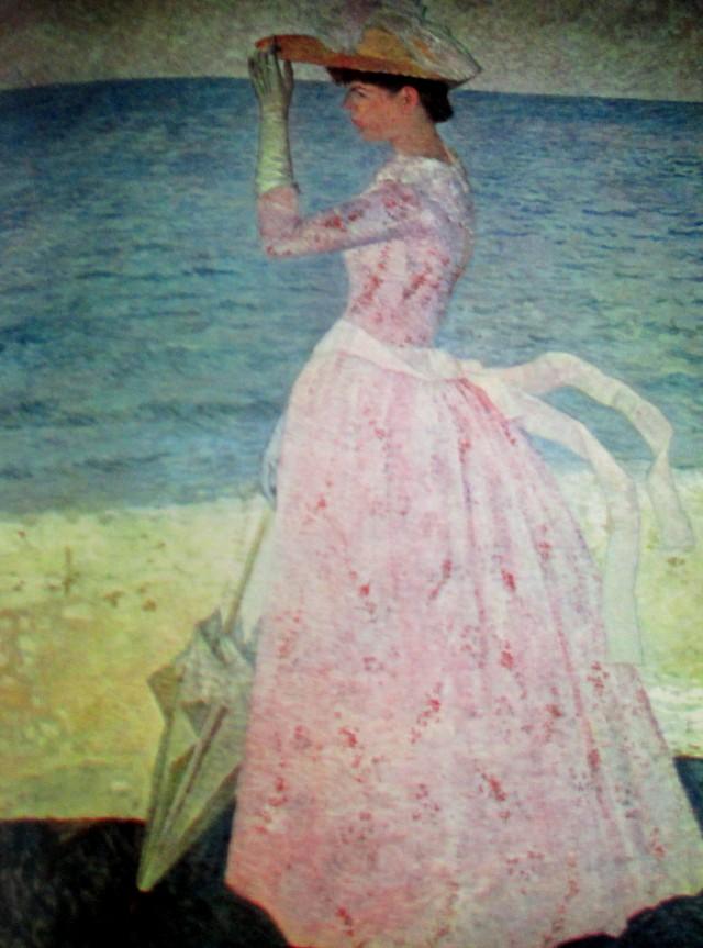 Aristide Maillol la femme a l'ombrelle