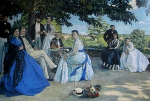 frederic bazille - family reunion