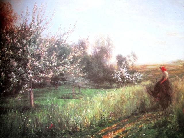 daubigny - spring