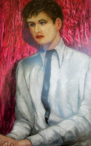 Roy de Maistre - Portrait of Francis Bacon