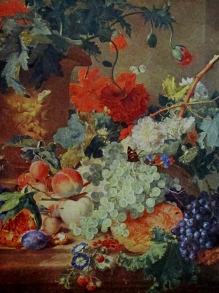 Van Huysum - fruit and flowers