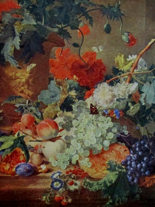 van huysum fruit and flowers