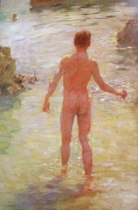 henry scott tuke - boys on a beach 1909