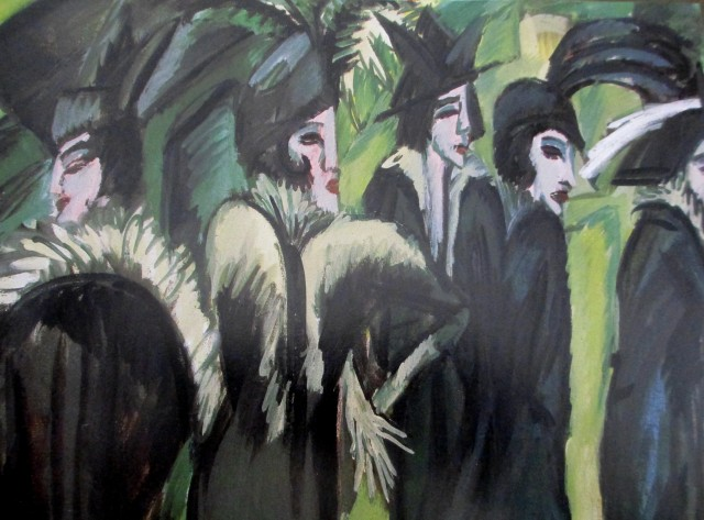 ernst ludqwig kirchner 5 women-on-street 1913 mus ludwig cologne