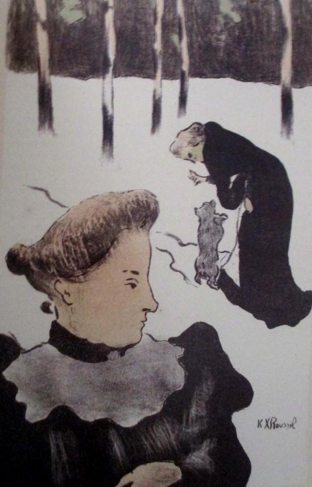 ker xavier roussel - teaching the dog
