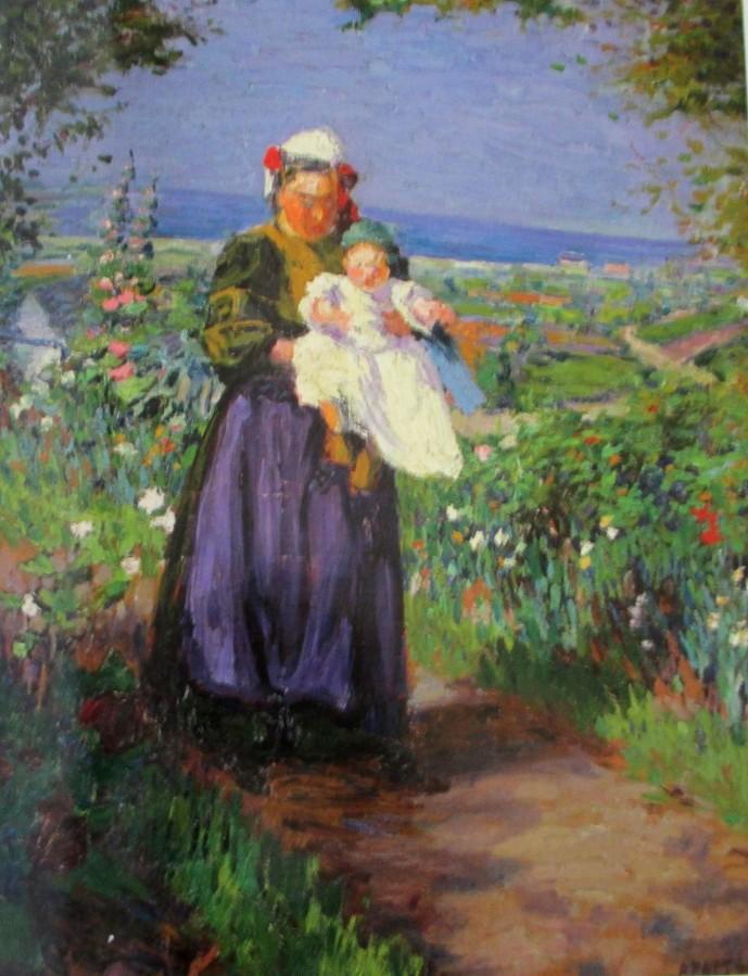 Ambrose Patterson - Breton woman