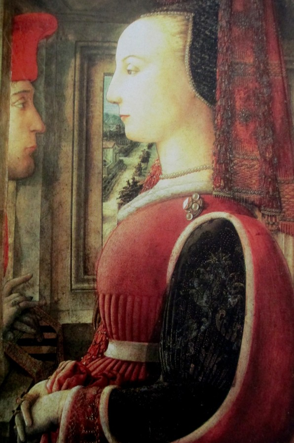 Fra Filippo Lippi - A man and a woman at the casement