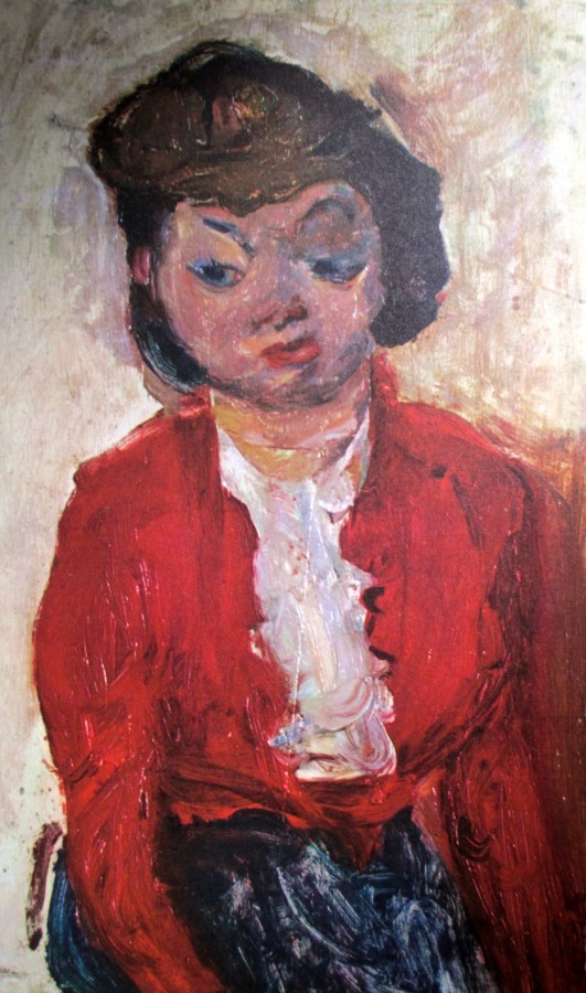 Chaim Soutine - English Woman