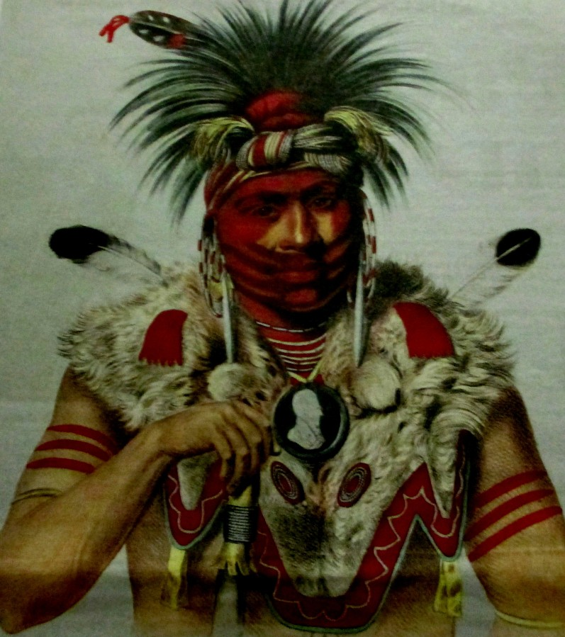Charles Bird King - History of Indian Tribes of America