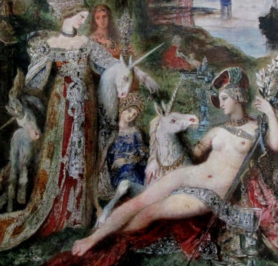 Gustave Moreau - The Unicorns