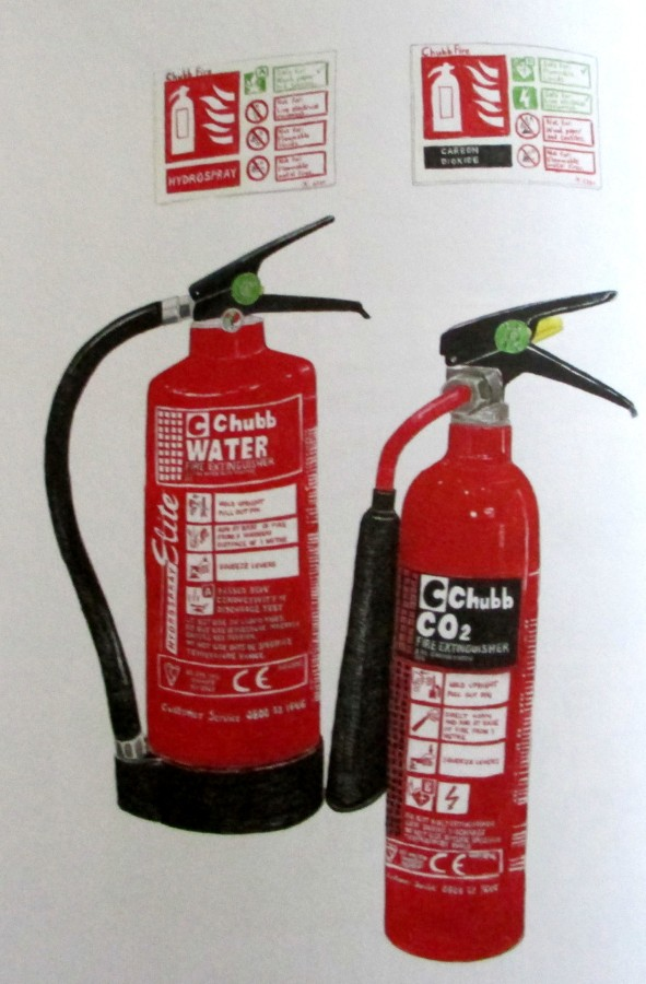 Christine Berrie - Fire Extinguishers
