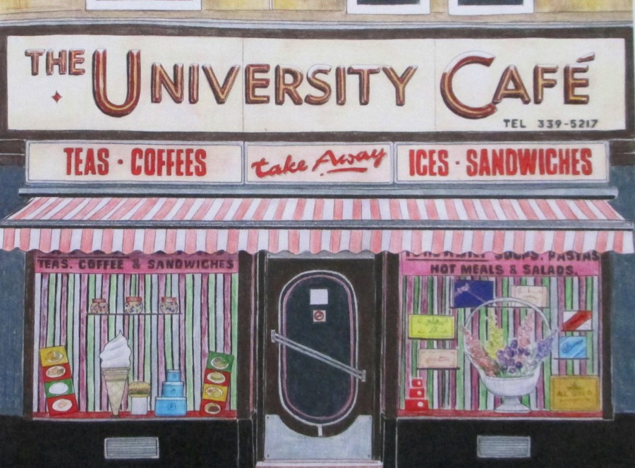Christine Berrie - University Cafe