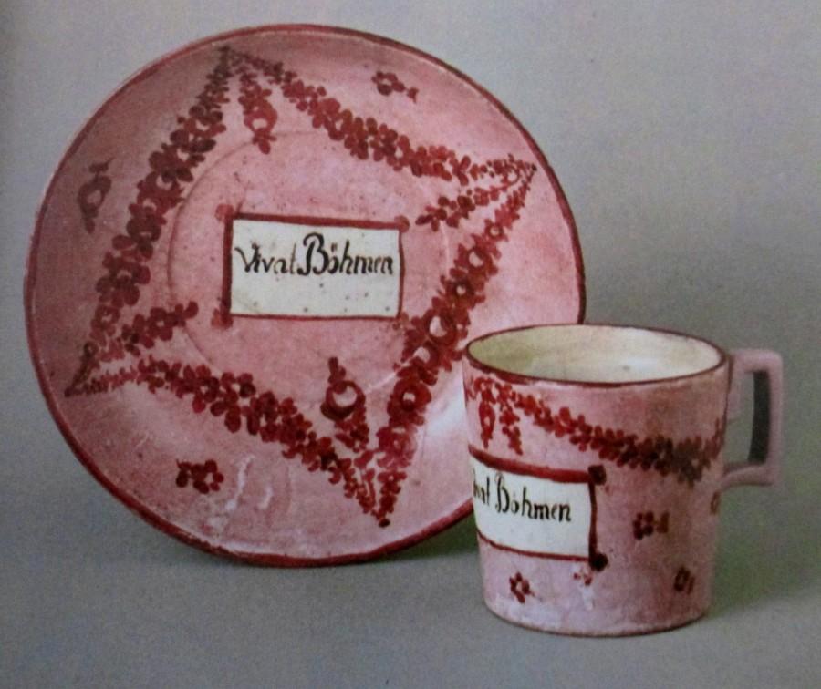 Vivat Bohmen porcelain