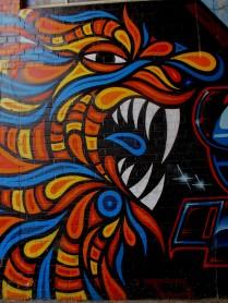 Beastman street artist, street art, is it art?