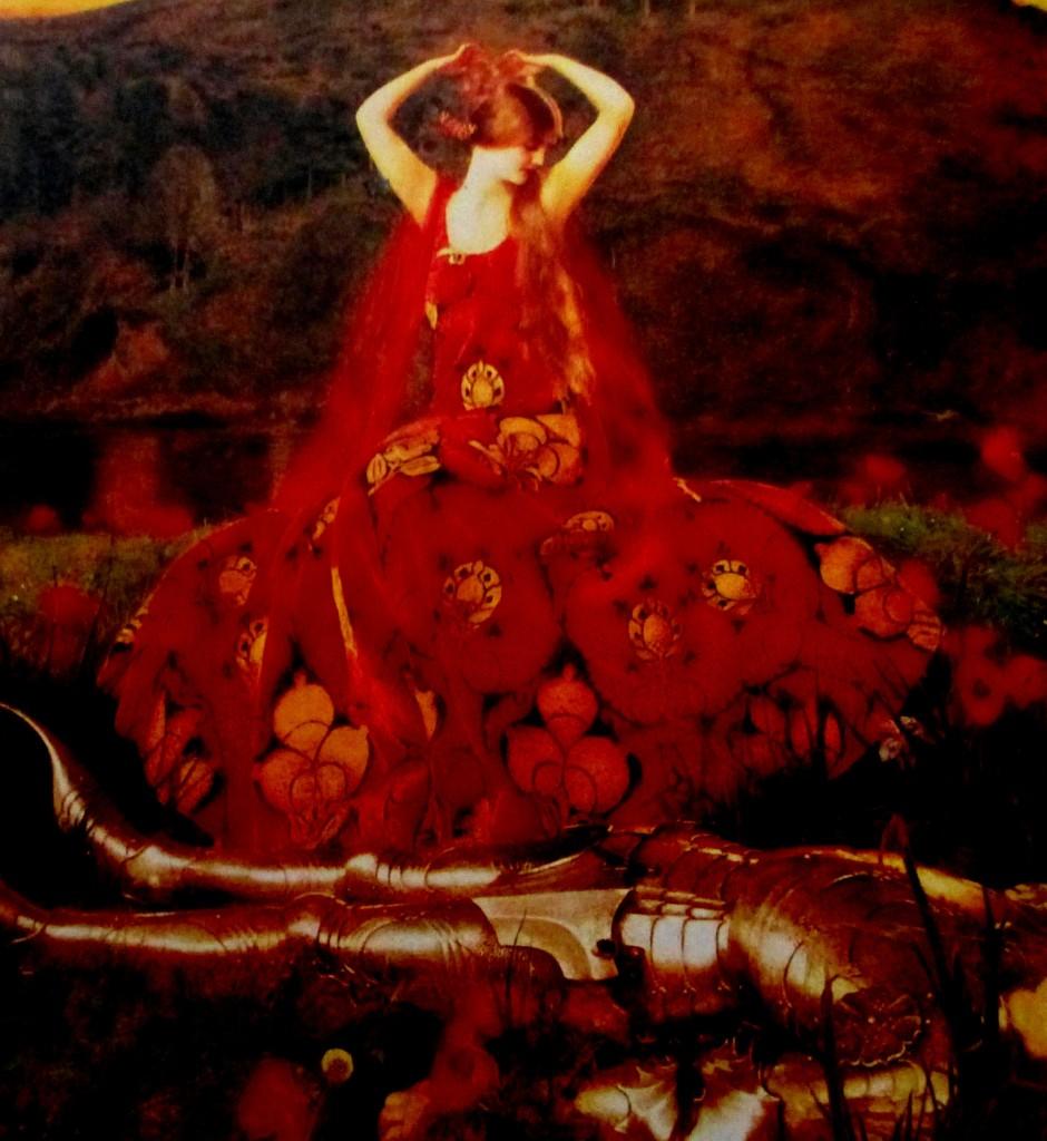 Frank Cadogan Cowper - la belle dame sans merci, is it art?, Royal Academy artists, British artists, English artists, is it ar?