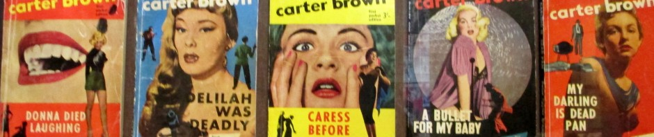 Carter Brown & Marc Brody book covers, pulp fiction, cover illustrations, is it art?