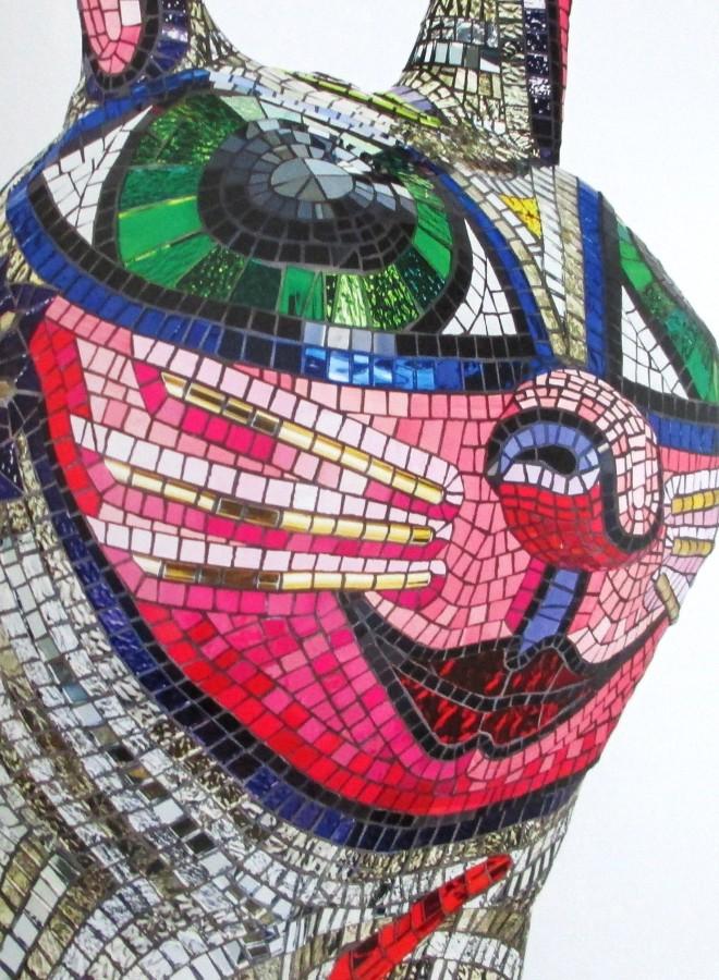 Deb Halpern, creatures (detail), sculpture, Australian artists, is it art?