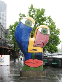 Deb Halpern, Southbank sculpture, Australian art, is it art?