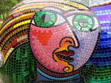 Deborah Halpern, Mali , mosaics, sculpture, Australian artists, is it art?