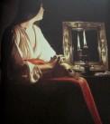 Georges de la Tour - penitent Magdalene, is it art?