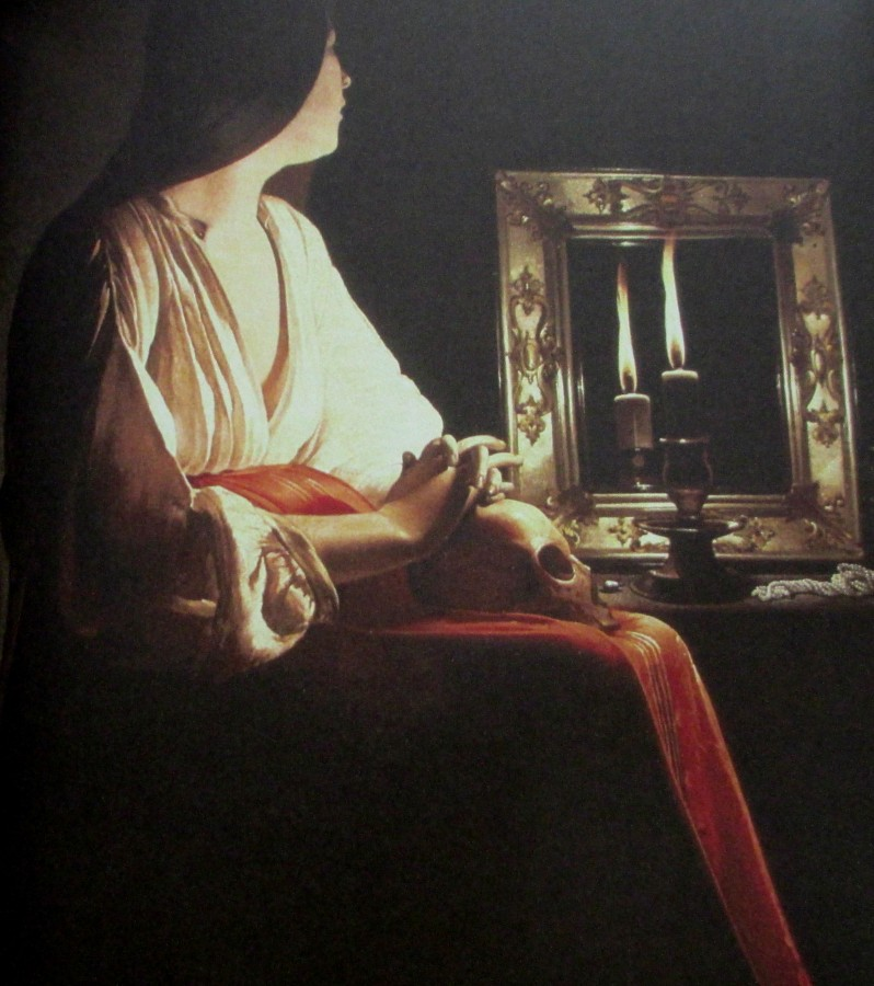 Georges de la Tour - penitent Magdalene, is it art?