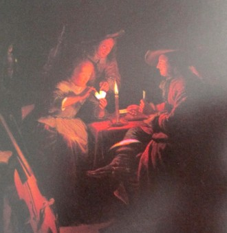 Georges de la Tour, gamblers by candlelight, is it art?