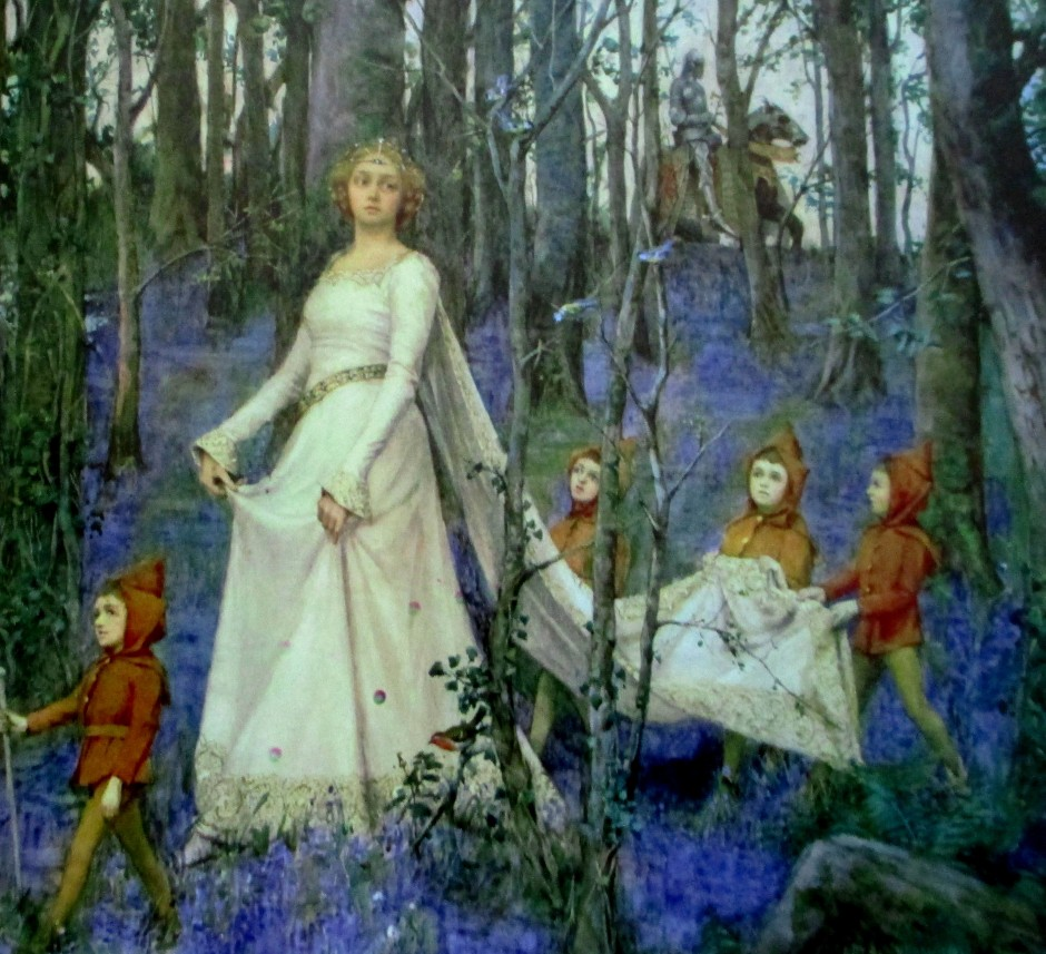 Henry Maynell Rheam - The Fairy Dell, artworks,