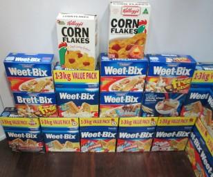 Corn Flakes & Weet-Bix