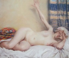 Jant Agnes Cumbrae-Stewart - the awakening yawn, Australian artists, female artists, is it art?