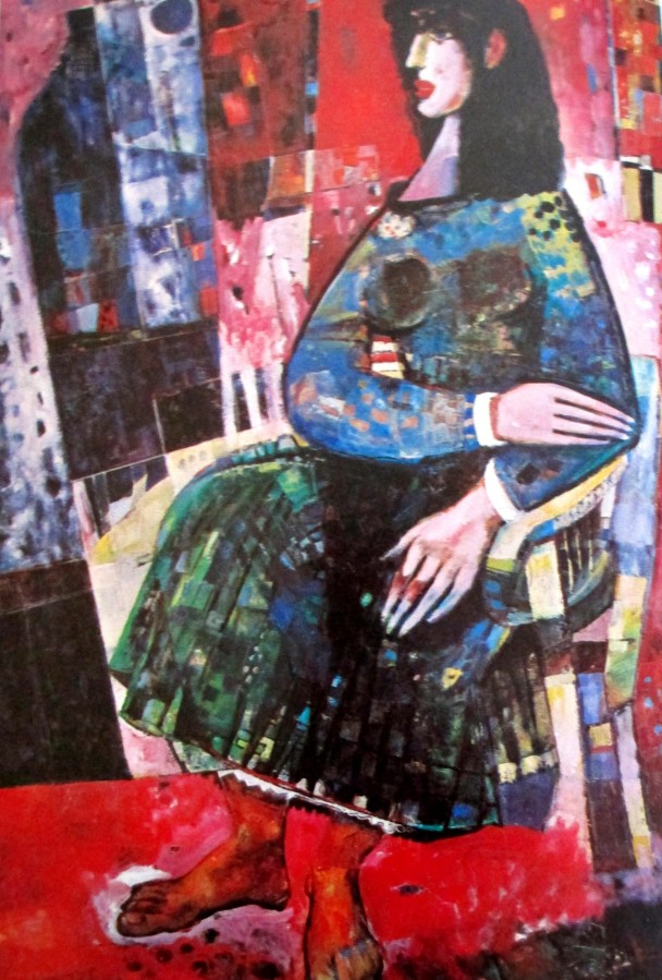 Michael Kmit - Edda, Australian artists, ne0o-Byzantine art, is it art?