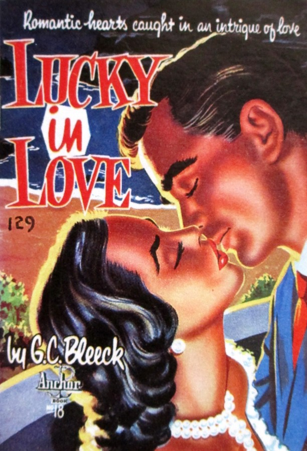 lucky in love, G.C. Bleeck, Anchor books, cover art, is it art?