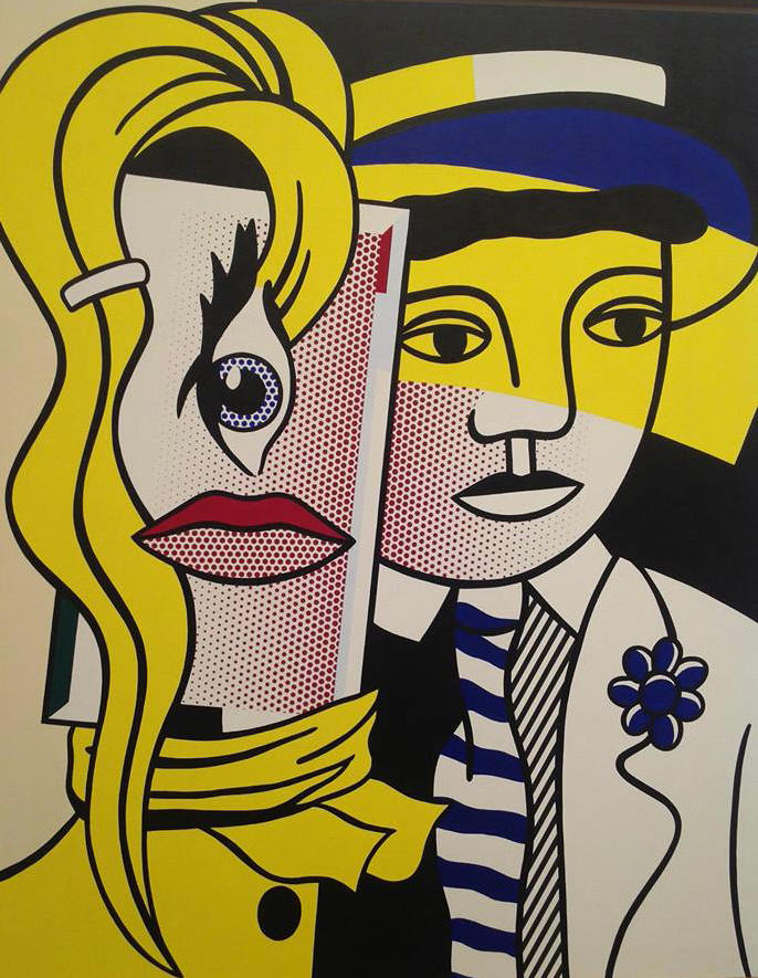 Roy Lichtenstein pop art, is it art?