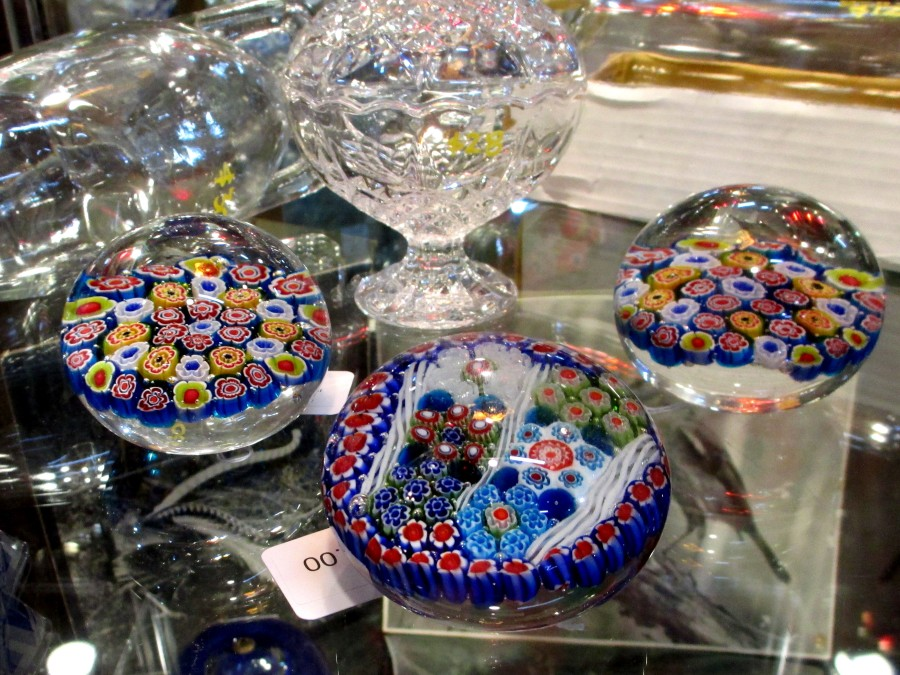 Murano paperweights