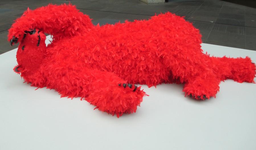 Paola Pivi- red bear