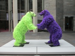 Paola Pivi - standing bears, is it art?