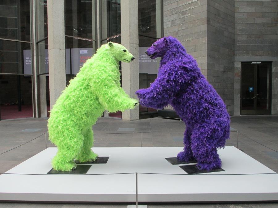 Paola Pivi - standing bears