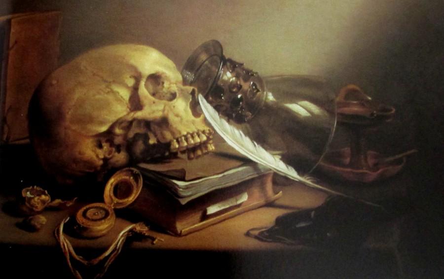 Pieter Claesz - a varitas still life, Dutch artists, is it art?