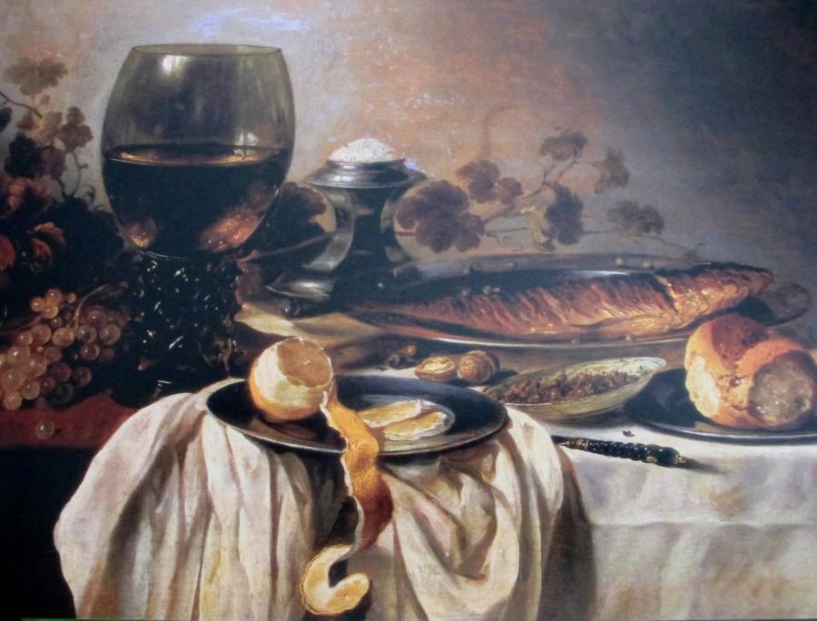 Pieter Claesz - breakfast 1646, Dutch artists, is it art?
