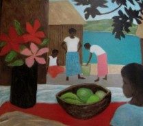 Ray Crooke - island study, Australian artists, is it art?